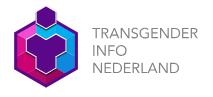 Het logo van Transgender Info Nederland.