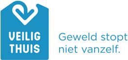 Het logo van Veilig Thuis.